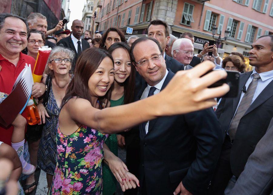 François Hollande en septembre 2013