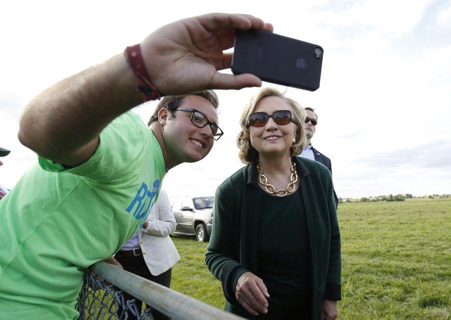 Hillary Clinton en septembre 2014