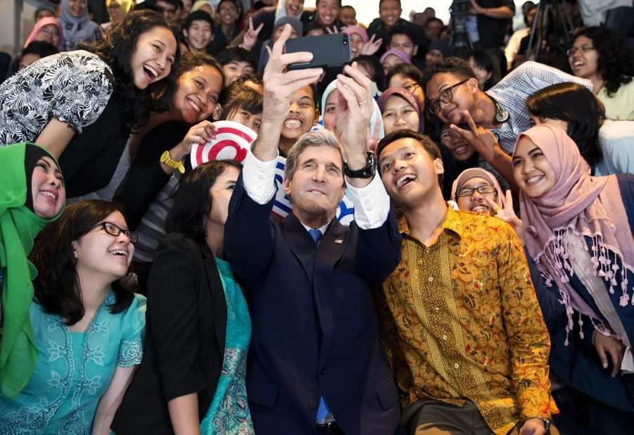 John Kerry en février 2014