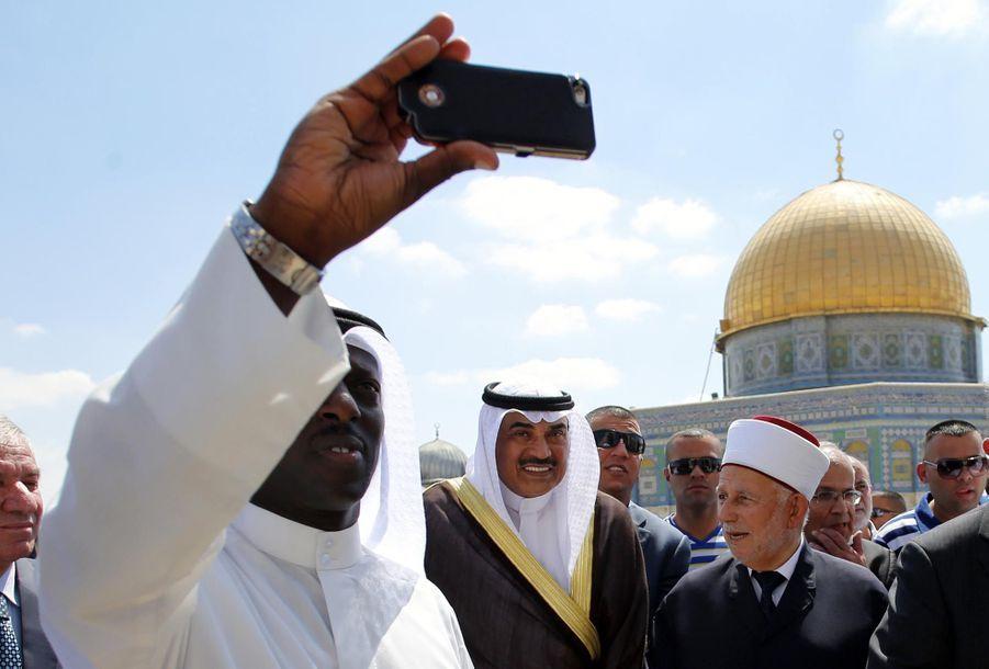 Le ministre des affaires étrangères du Koweit Sabah al Khalid al-Sabah
