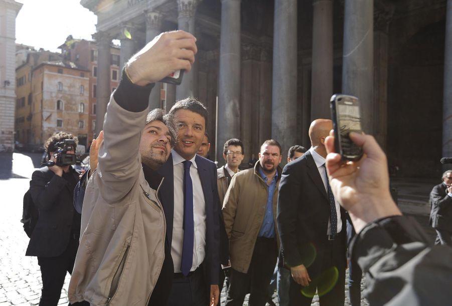 Le Premier ministre italien Matteo Renzi en avril 2014
