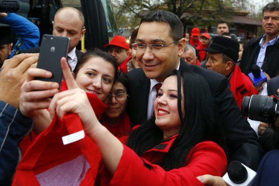 Le Premier ministre roumain Victor Ponta en novembre 2014