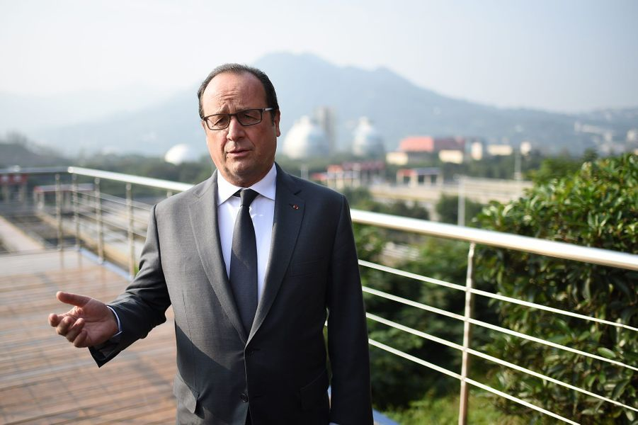 François Hollande à Chongqing