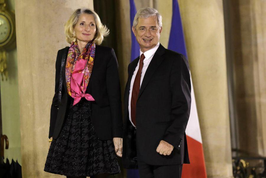 Claude Bartolone et sa femme Véronique