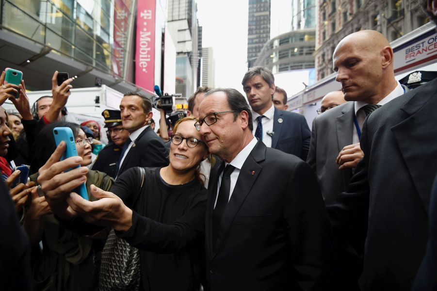 François Hollande, star sur Broadway