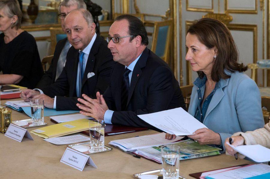 Réunion de travail avec le Secrétaire général des Nations unies Ban Ki-moon