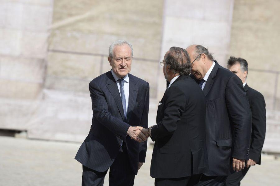 L'ancien maire de Paris, Jean Tiberi