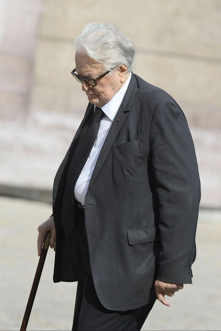 L'ancien ministre socialiste Roland Dumas