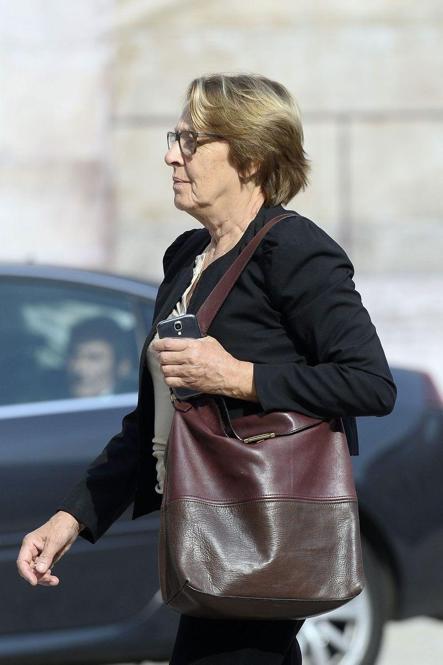 La ministre socialiste de la Fonction publique, Marylise Lebranchu
