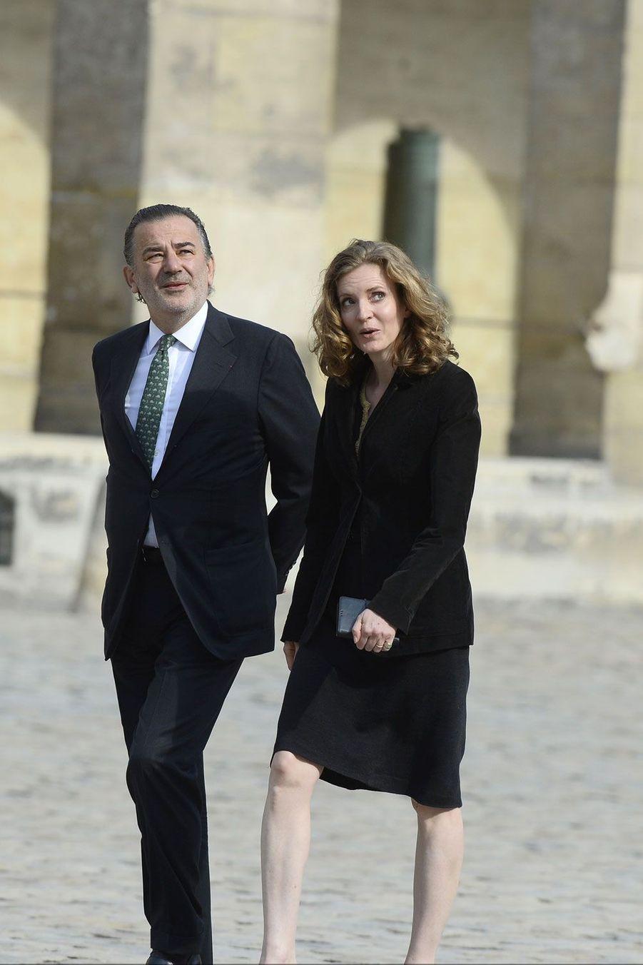 Le maire du Ier arrondissement de Paris, Jean-François Legaret et la députée Nathalie Kosciusko-Morizet