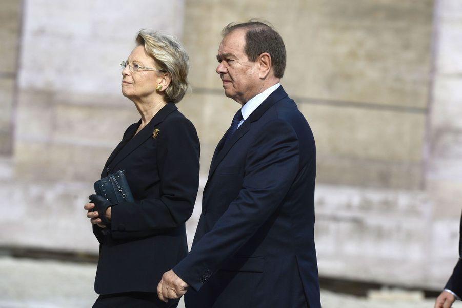 Michèle Alliot-Marie et Patrick Ollier
