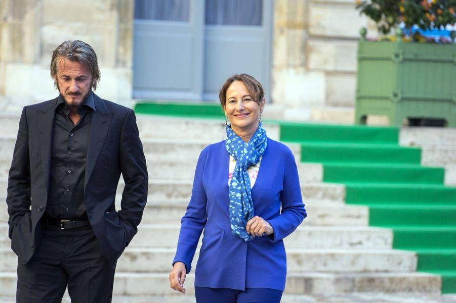 La ministre de l'Ecologie a multiplié les contacts avec l'acteur, très engagé pour un projet de reforestation en Haïti.