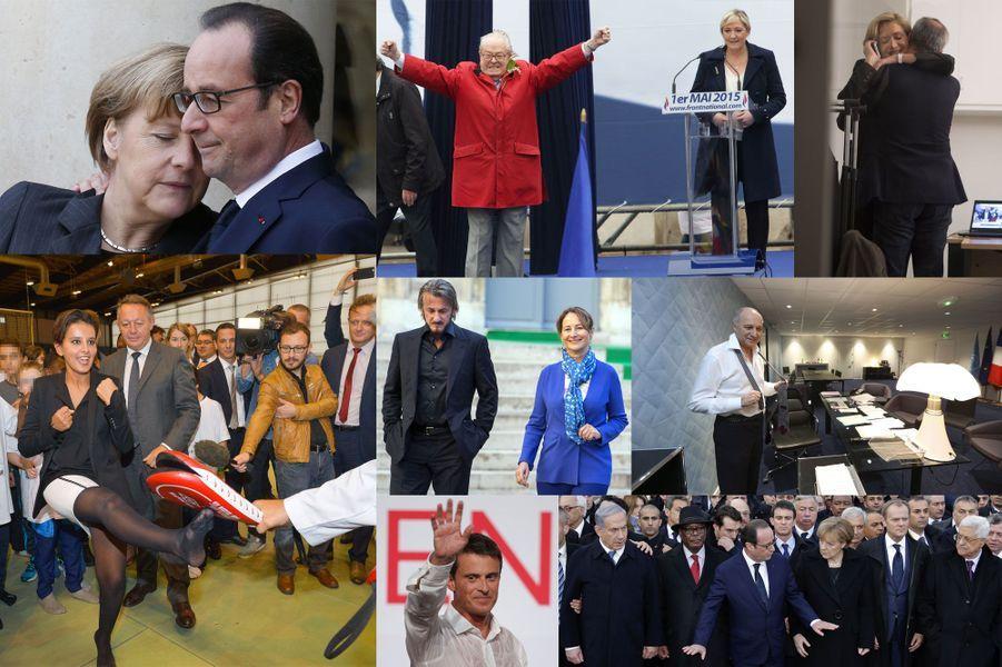 L'année politique en photos