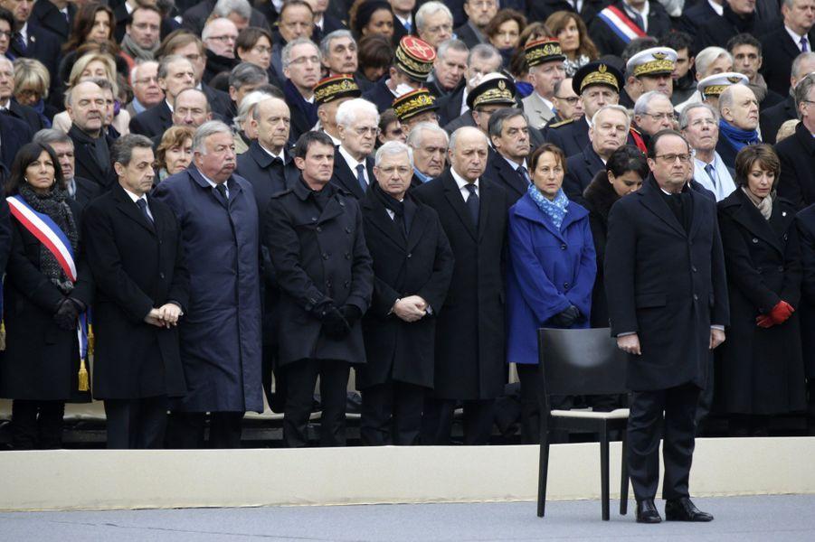 François Hollande devant le gouvernement