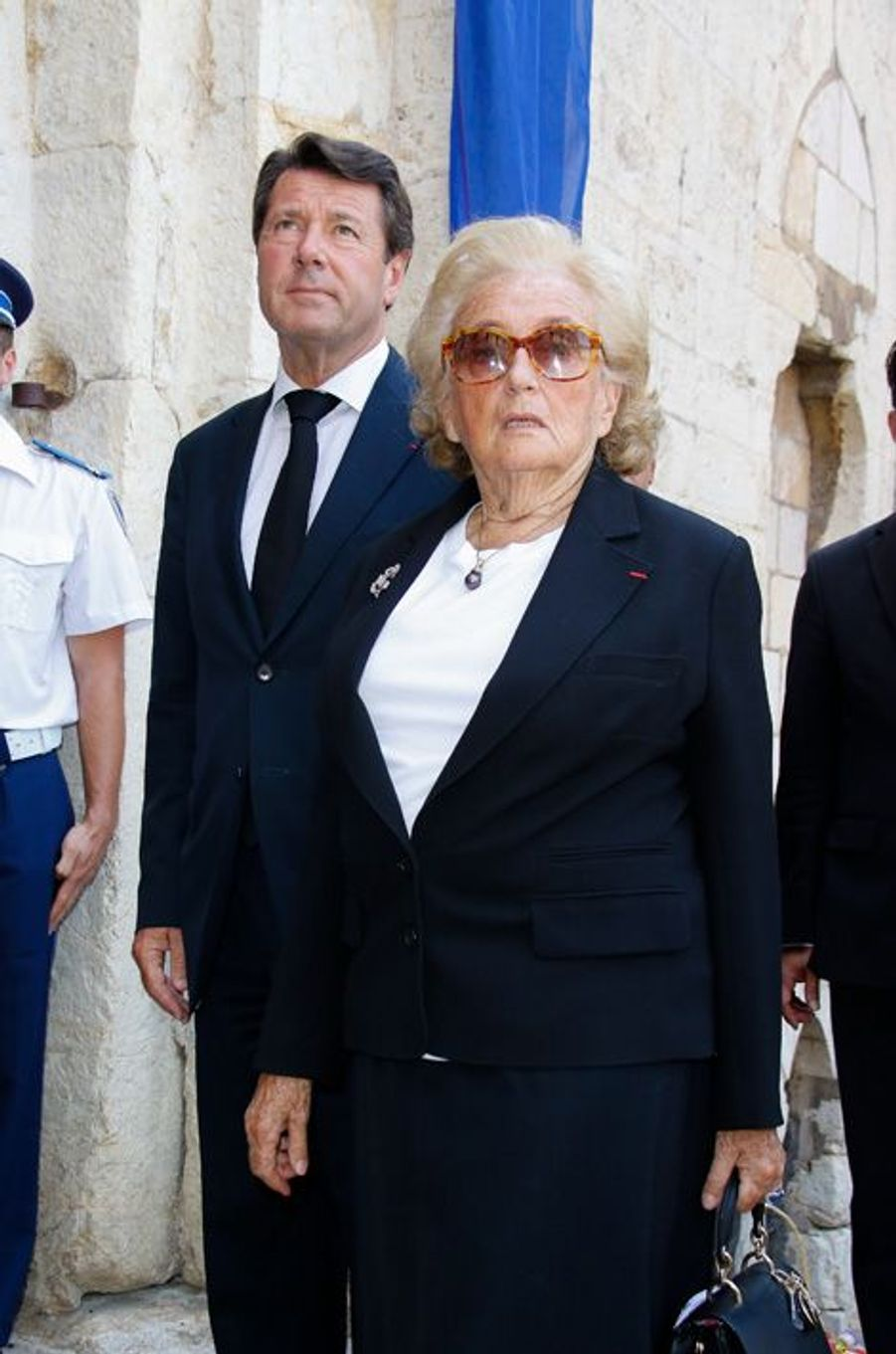 Christian Estrosi et Bernadette Chirac