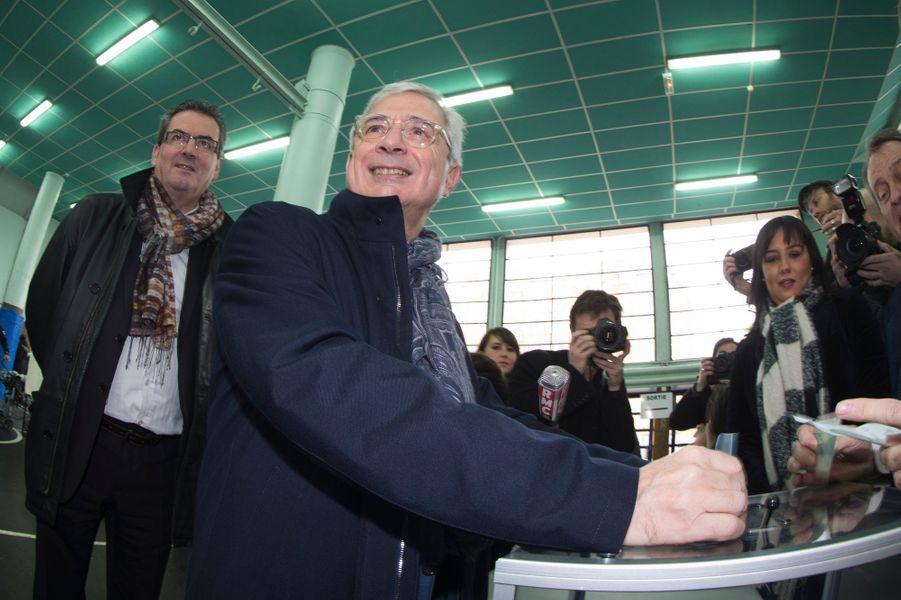 Claude Bartolone au Pré Saint-Gervais