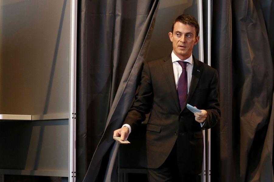 Manuel Valls à Evry