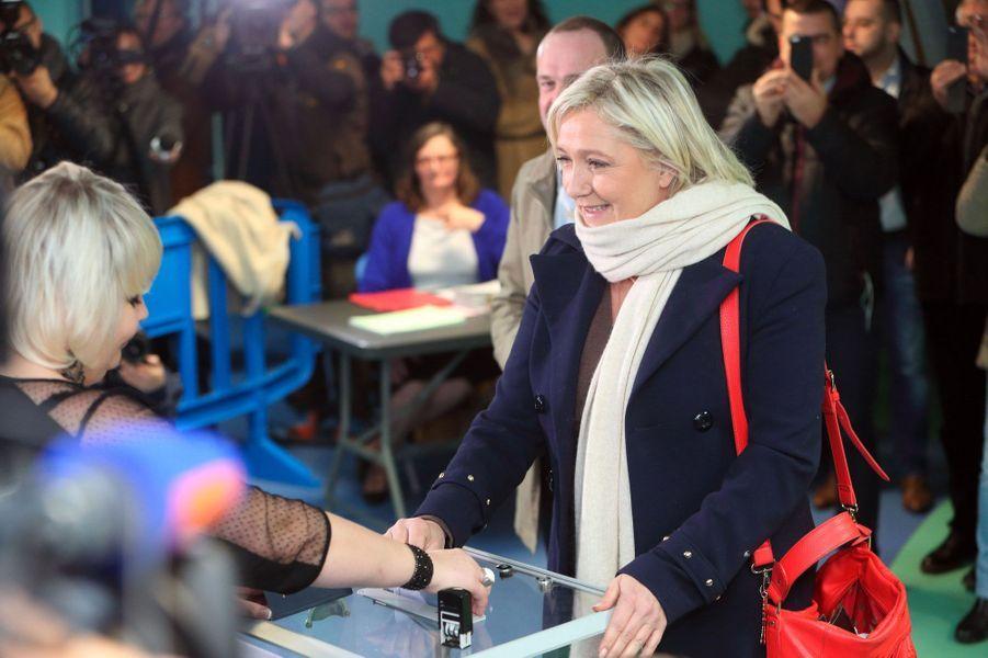Marine Le Pen à Hénin Beaumont