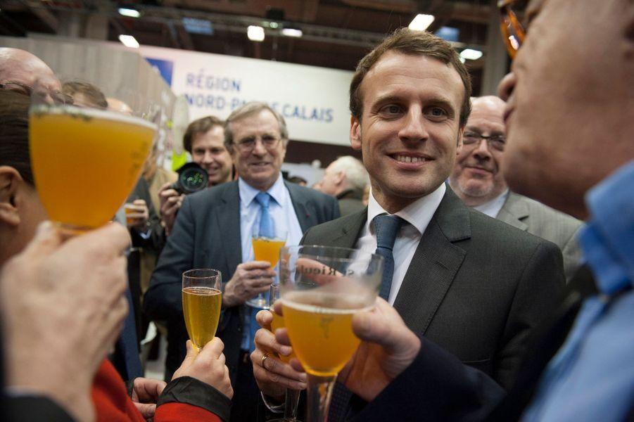 Emmanuel Macron, de passage mardi 24