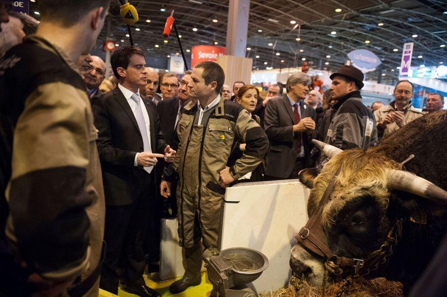 Manuel Valls, lundi 23