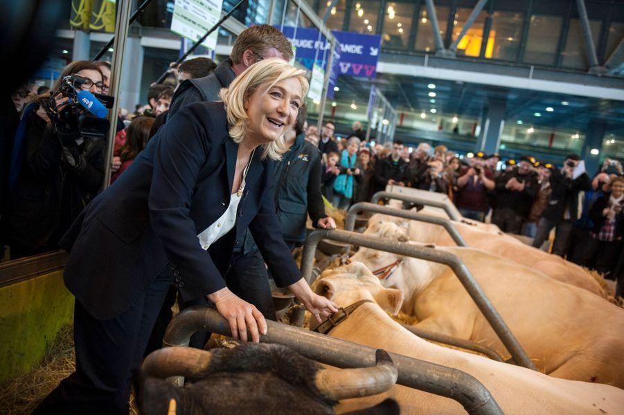 Marine Le Pen, jeudi 26