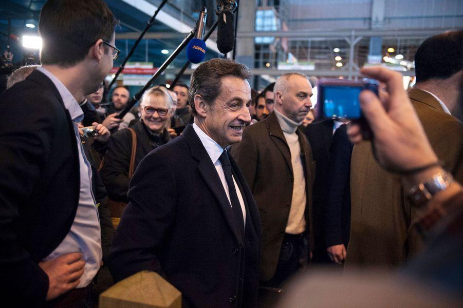 Nicolas Sarkozy, mercredi 25