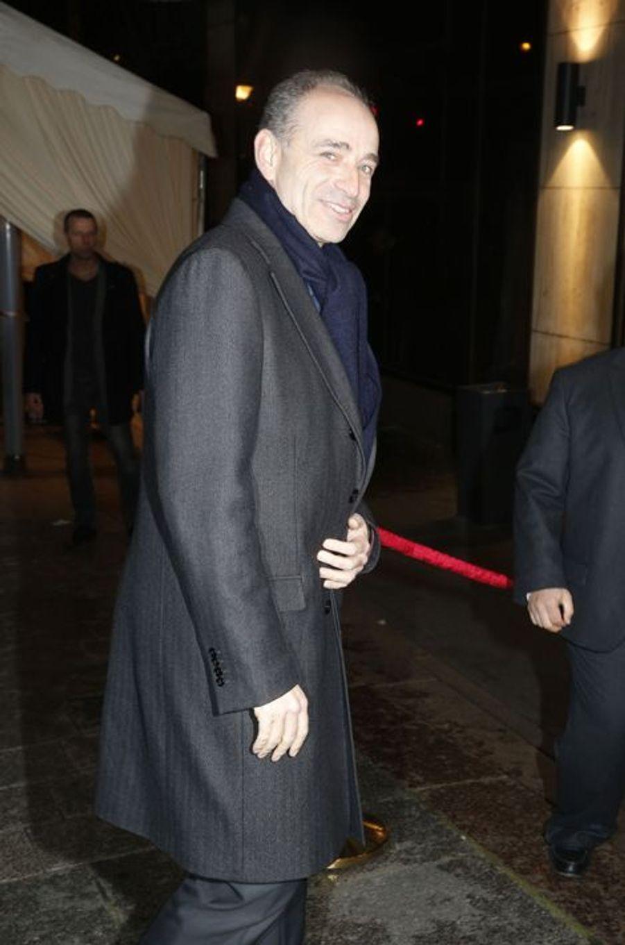 Jean-François Copé au dîner annuel du Crif à Paris le 7 mars 2016