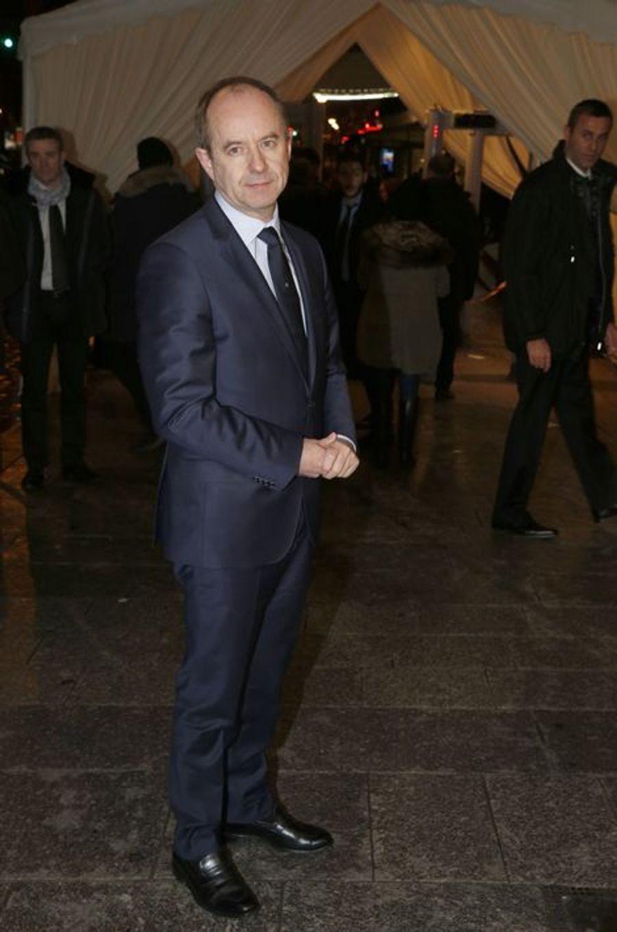 Jean-Jacques Urvoas au dîner annuel du Crif à Paris le 7 mars 2016