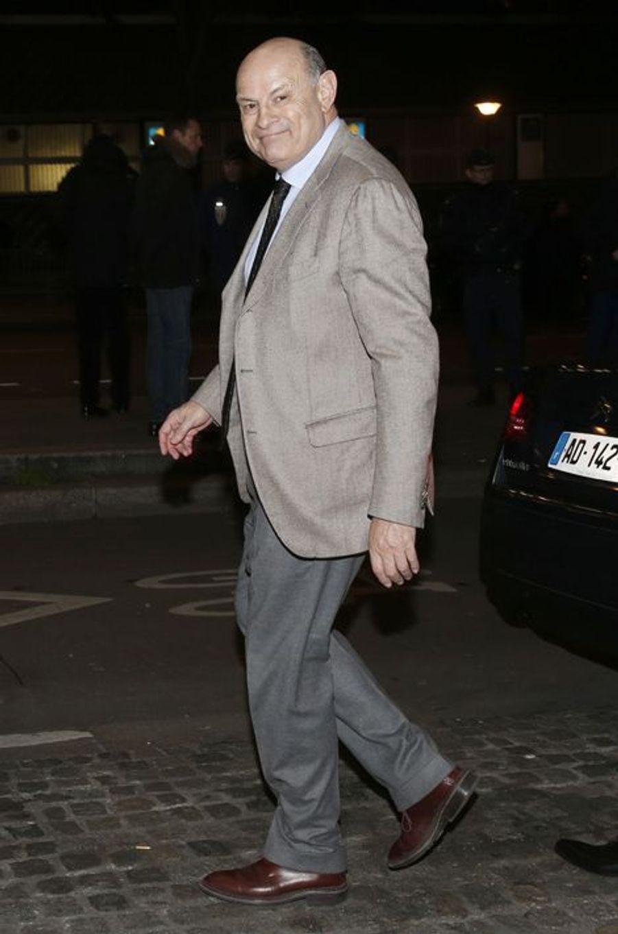 Jean-Marie Le Guen au dîner annuel du Crif à Paris le 7 mars 2016