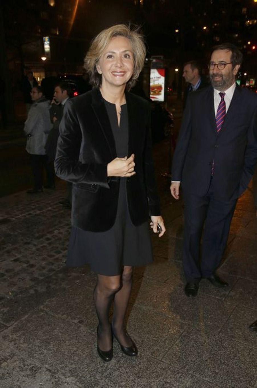 Valérie Pécresse au dîner annuel du Crif à Paris le 7 mars 2016