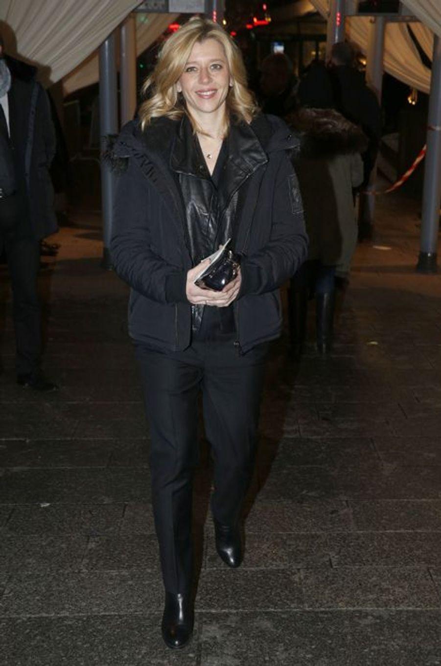 Wendy Bouchard au dîner annuel du Crif à Paris le 7 mars 2016