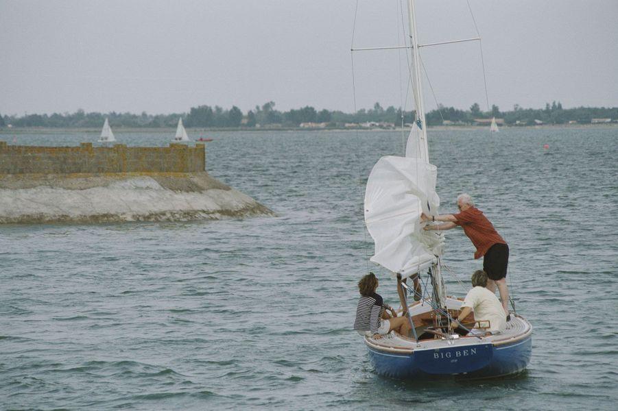 Eté 2001 : vacances à l'Île-de-Ré avec Sylviane