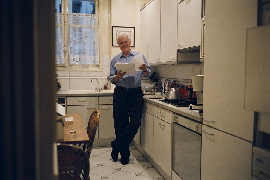 Février 2002 : en pleine campagne présidentielle, Lionel Jospin nous reçoit chez lui