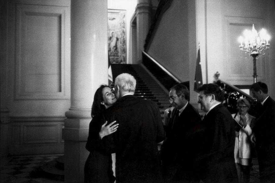 Mai 1998 : un mois avec le Premier ministre. Ici avec Ségolène Royal
