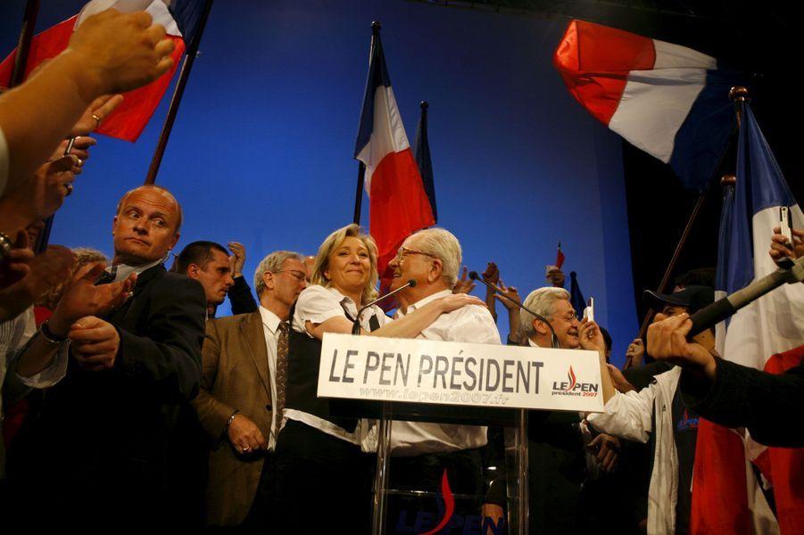 Soir de défaite : 11% seulement au premier tour de la présidentielle en 2007