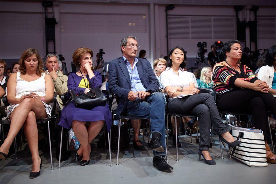 François Lamy et Fleur Pellerin au discours d'ouverture de l'Université d'été du PS à La Rochelle