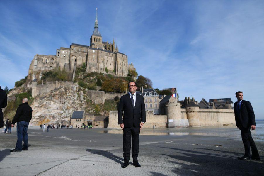 François Hollande en octobre 2015