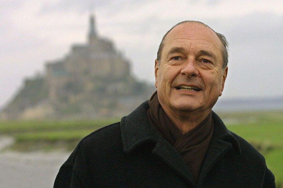 Jacques Chirac en 2002
