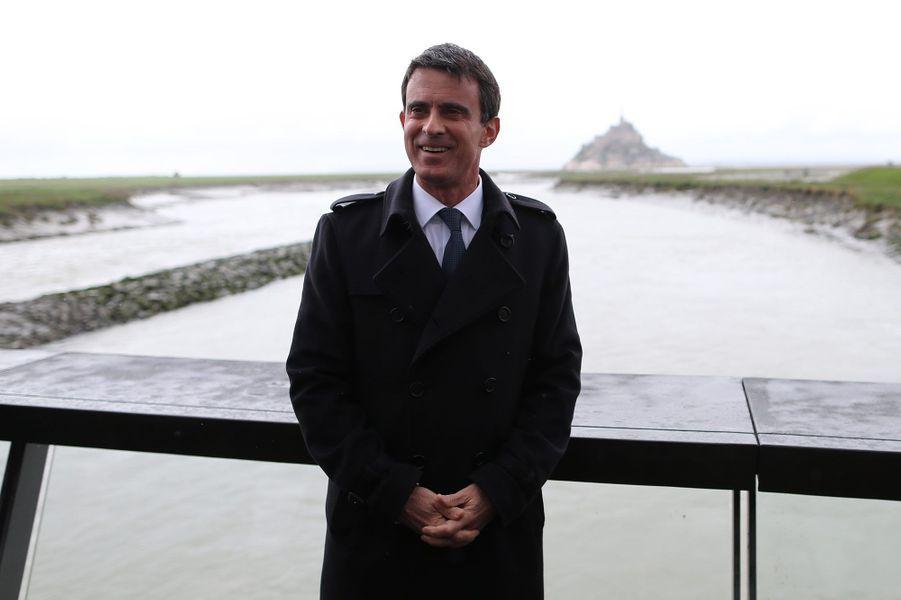 Manuel Valls, lundi 25 avril