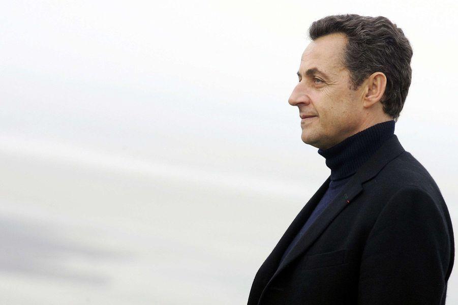 Nicolas Sarkozy en janvier 2007