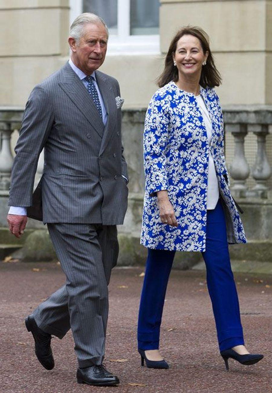 Ségolène Royal et le prince Charles