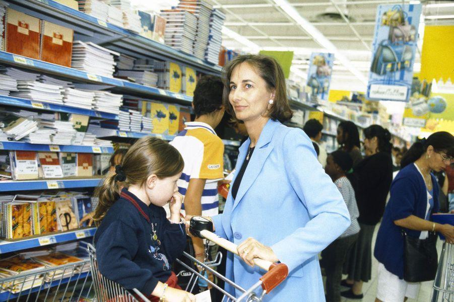 Août 1998 : courses de rentrée avec Flora
