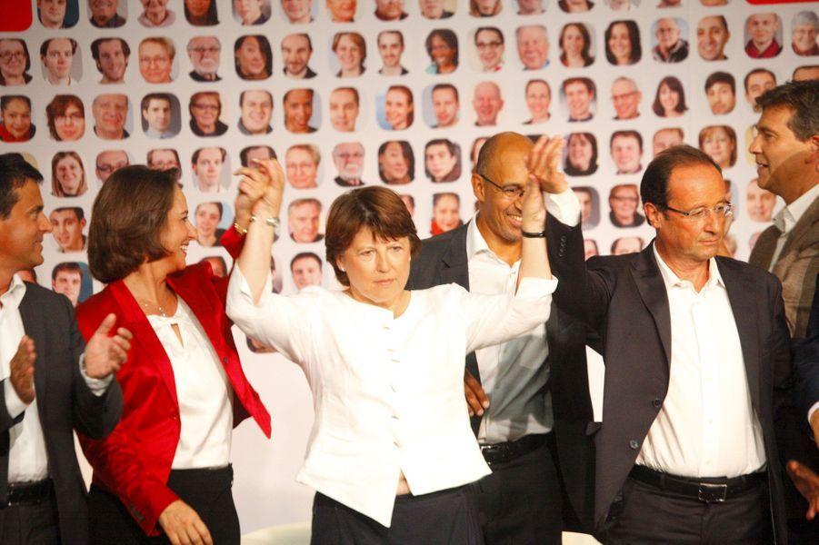 Août 2011 : les candidats à la primaire ensemble