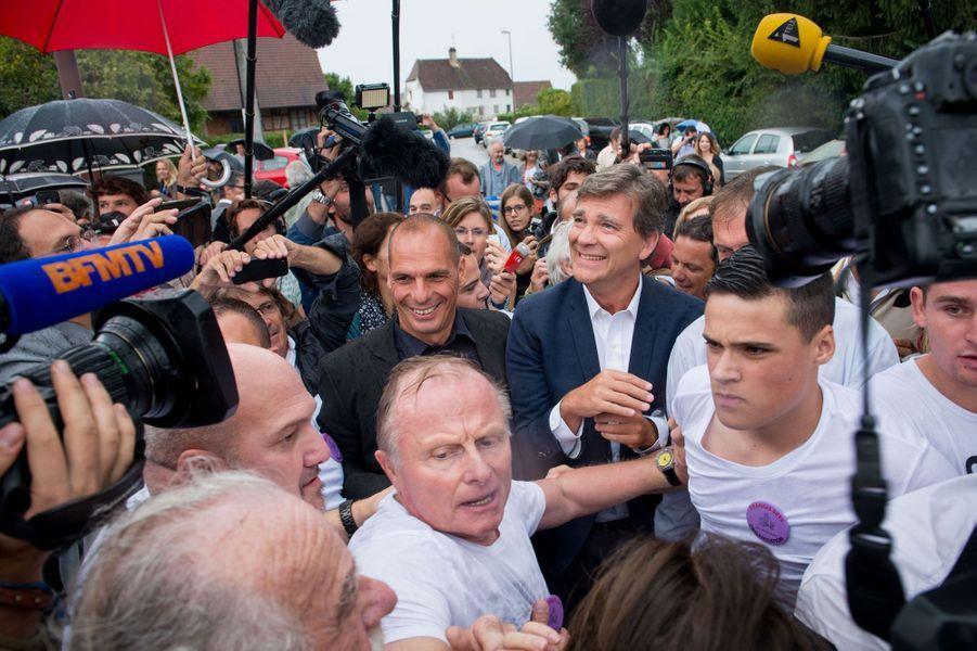 Varoufakis, politique-star de la Fête de la rose