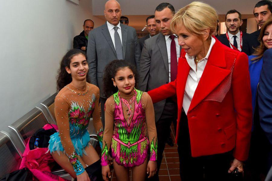 Brigitte Macron à Tunis, le 31 janvier 2018.