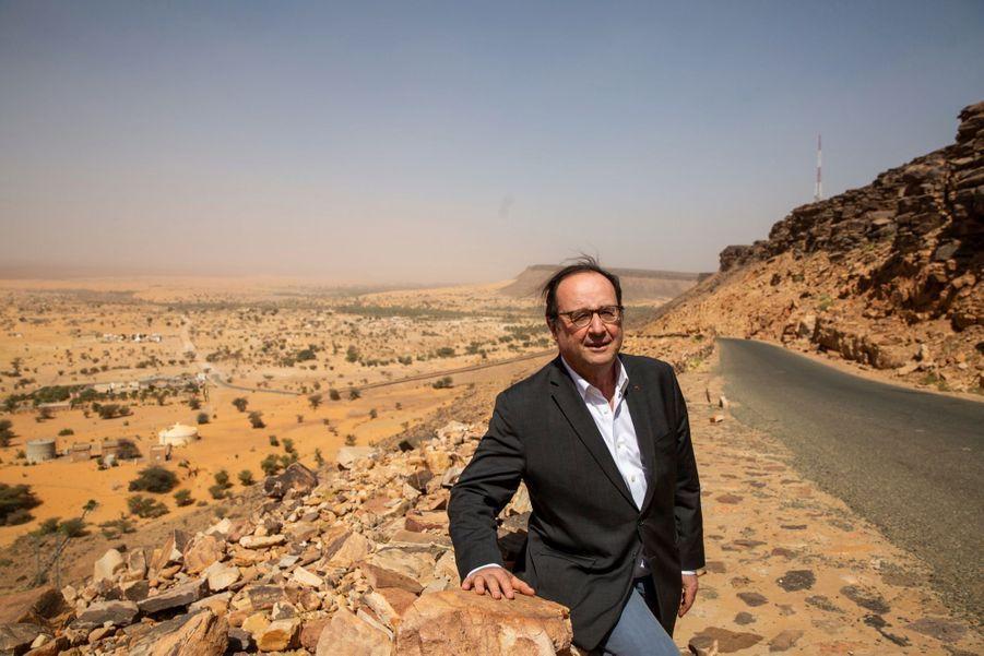 À Attar, devant le panorama splendide du désert.