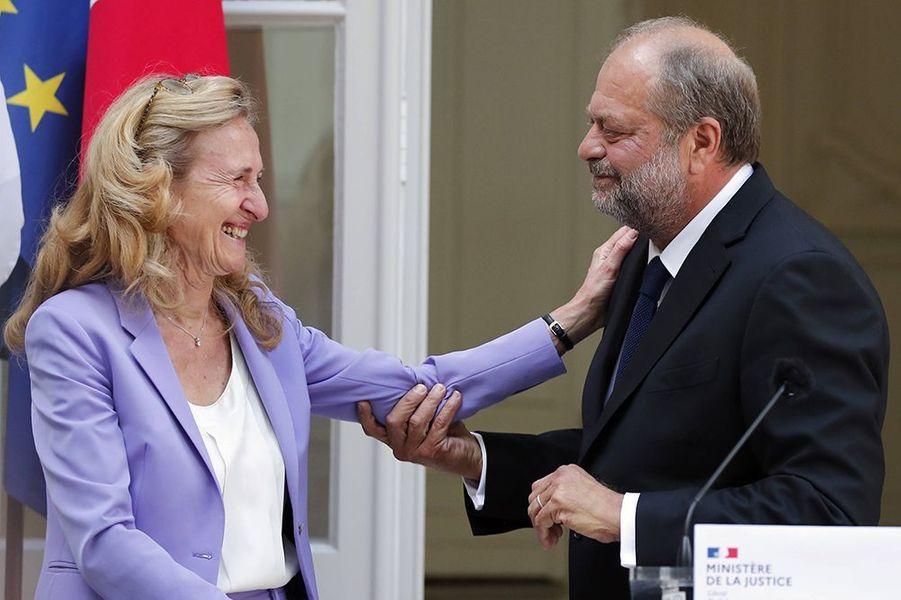 Ce mardi se déroulait la passation de pouvoirs au ministère de la Justice entre Nicole Belloubet et Eric Dupond-Moretti.