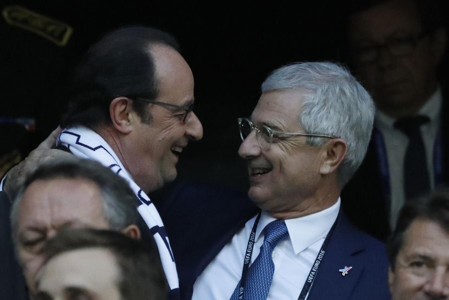 François Hollande et Claude Bartolone