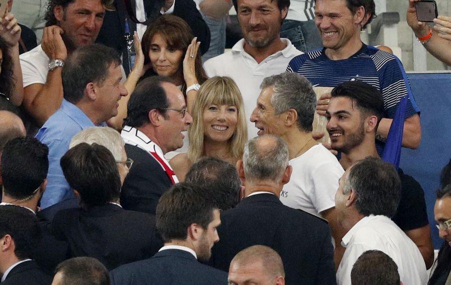 François Hollande et Nagui