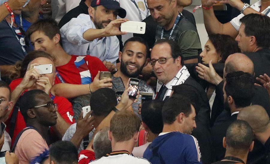 Euro 2016 : la joie de François Hollande